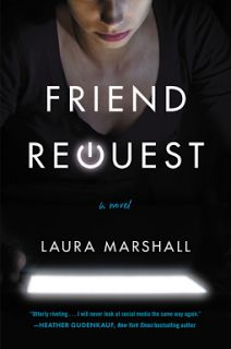 A Bookaholic Swede: #BookReview Friend Request by Laura Marshall (@laurajm8) @GrandCentralPub #Giveaway