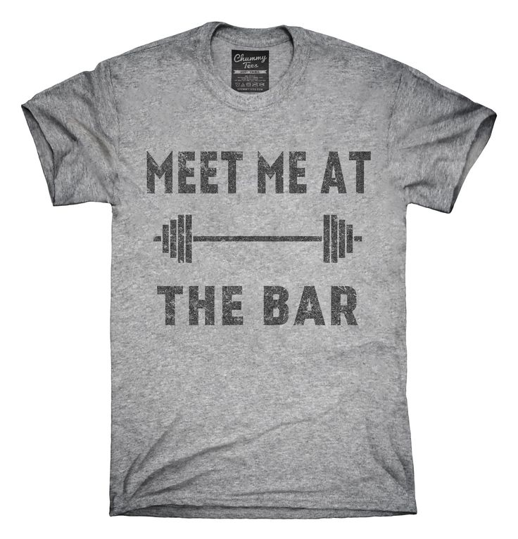 Meet Me At The Bar Funny Weightlifting T-Shirts, Hoodies, Tank Tops