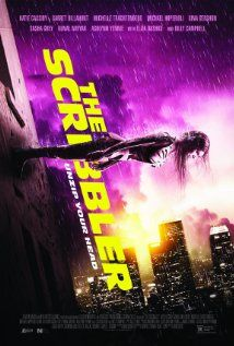 """""""The Scribbler""""  {2014}     [Poster]                             R ; Thriller; 88 mins. ;                                            ~Plot~ A young woman is facing her destructive multiple personalities using an experimental new procedure known as """"The Siamese Burn"""""""