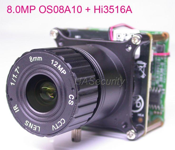 """8.0MP (4K/2K) H.265 IPC 1/1.8"""" OmniVision OS08A10 CMOS ..."""