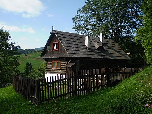 Vacation Rentals, rustic, romantic: Wooden Cottage, Veľké Borové, Slovakia