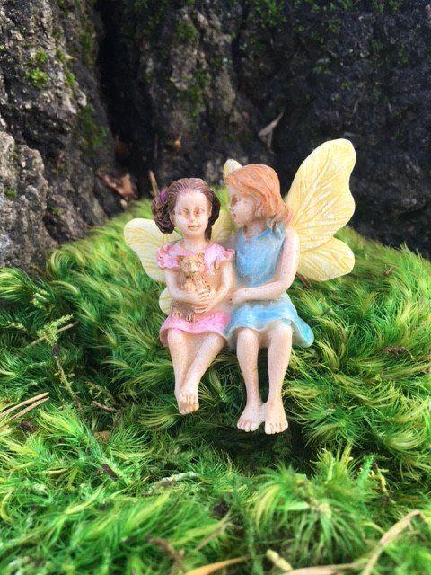 Sitting Sisters Fairy http://www.burgeandcompany.com