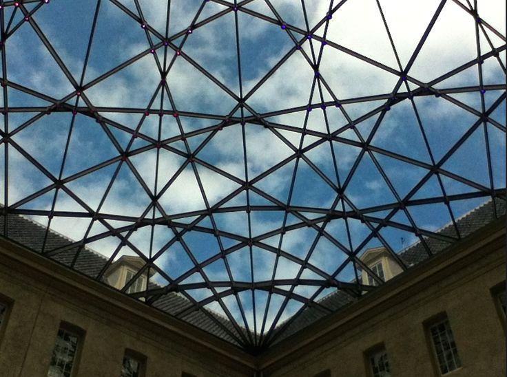 Roof construction Scheepvaartmuseum