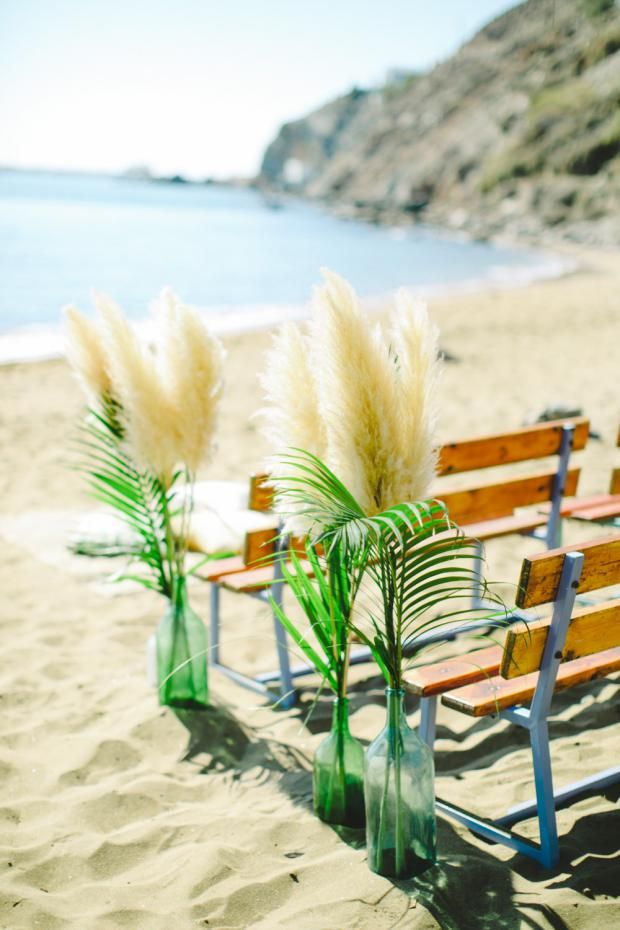 beach weddings in orange county ca%0A Maria  u     Nikos botanicalbohemian wedding in Greece