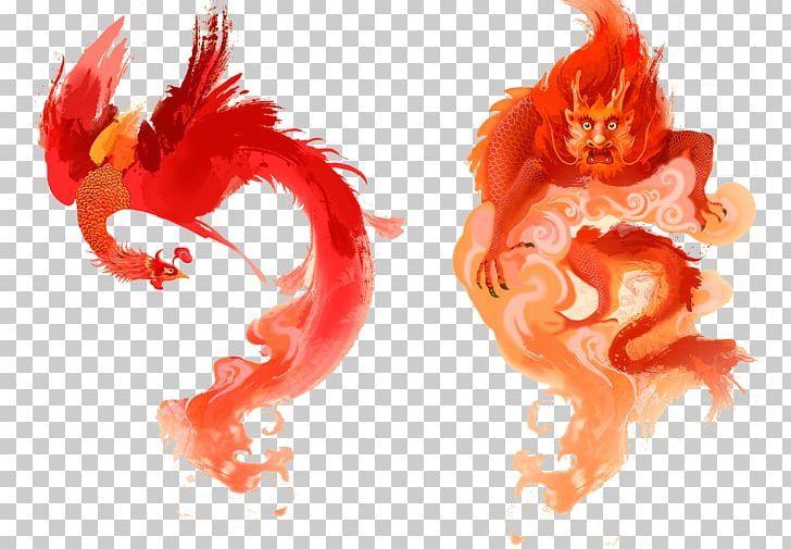 China Chinese New Year Chinese Dragon Illustration Png Beast Chinese Zodiac Computer Wallpaper De Phoe Dragon Illustration Chinese New Year Chinese Dragon