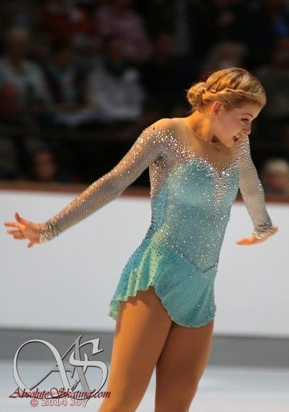 Gracie Gold- love her dress