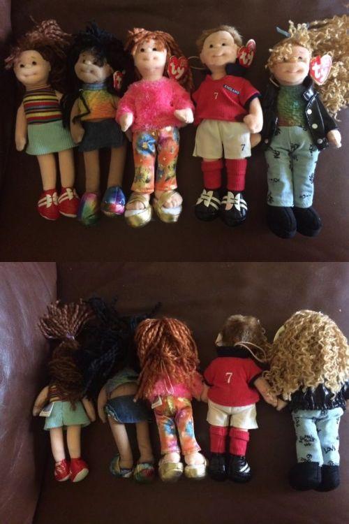 2a676d0fccc Beanie Boppers 16479  Ty Beanie Baby Dolls 5 Pretty Penelope Jazzy Jessie  Snazzy Sabrina Footie Paula -  BUY IT NOW ONLY   12.99 on eBay!