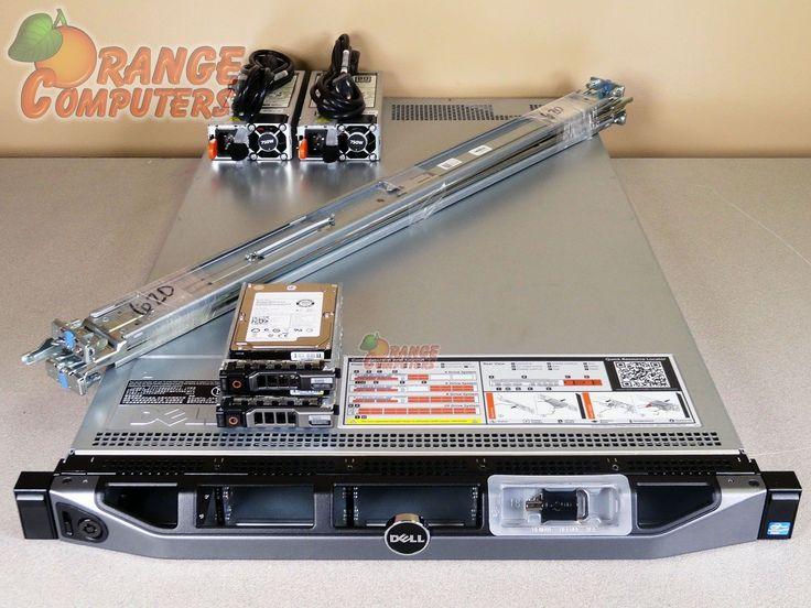 Dell PowerEdge R620 Server Dual Xeon E5-2690 8C 2.9GHz 192GB 2x 300GB SAS 4B RPS