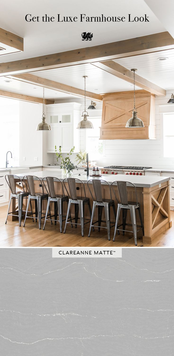 A Beautiful Gray With Linear White Veining, These Quartz Countertops Are Maintenance  Free And Durable, ...