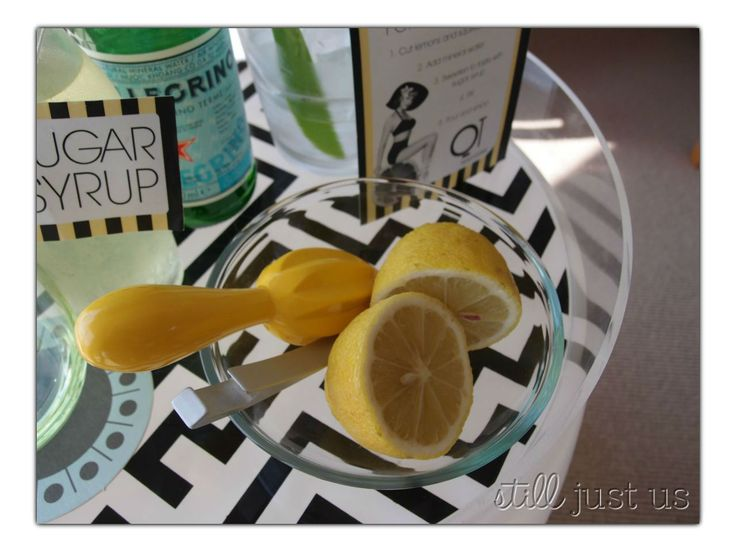 DIY fresh lemonade at the QT Gold Coast