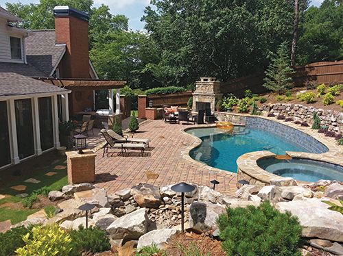 LandscapeOnline.com :: Article : Outdoor Living Southern ... on Southern Pools And Outdoor Living id=54095