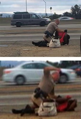 Marlene Pinnock survived a very brutal and public beating from California Highway Patrol Officer Daniel Andrew that was caught on cell phone video July 1, 2014 and went viral.