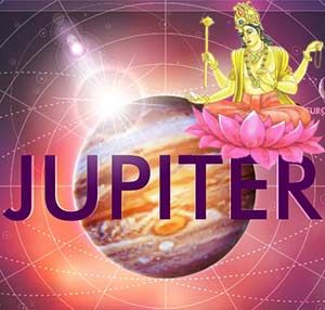 ASTROLOGY CHAPTER 9: THE WISDOM OF BRIHASPATI (JUPITER) Brihaspati, or Jupiter, is one of the most auspicious and beneficial planets.  He is the form of the Guru, the form of Lord Shiva, and the God of wisdom and eloquence. http://www.shreemaa.org/brihaspati-jupiter/