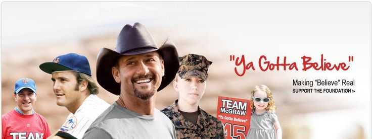 Tug McGraw Foundation - Home. Tim started this charity in honor of his father, Tug McGraw, who died of brain cancer.