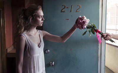 Scarica sfondi orrore, 2016, thriller, neon demon, elle fanning, jess