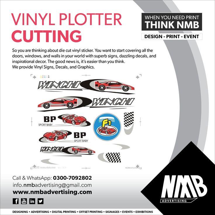 Vinyl Plotter Cutting NMB Services Pinterest - Superb vinyl signs
