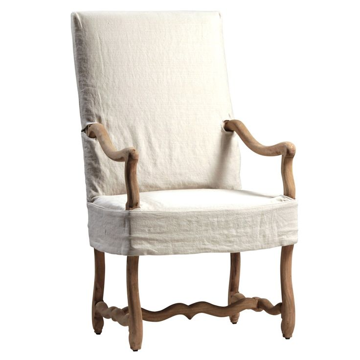 Pascal arm chair thebellacottage.com