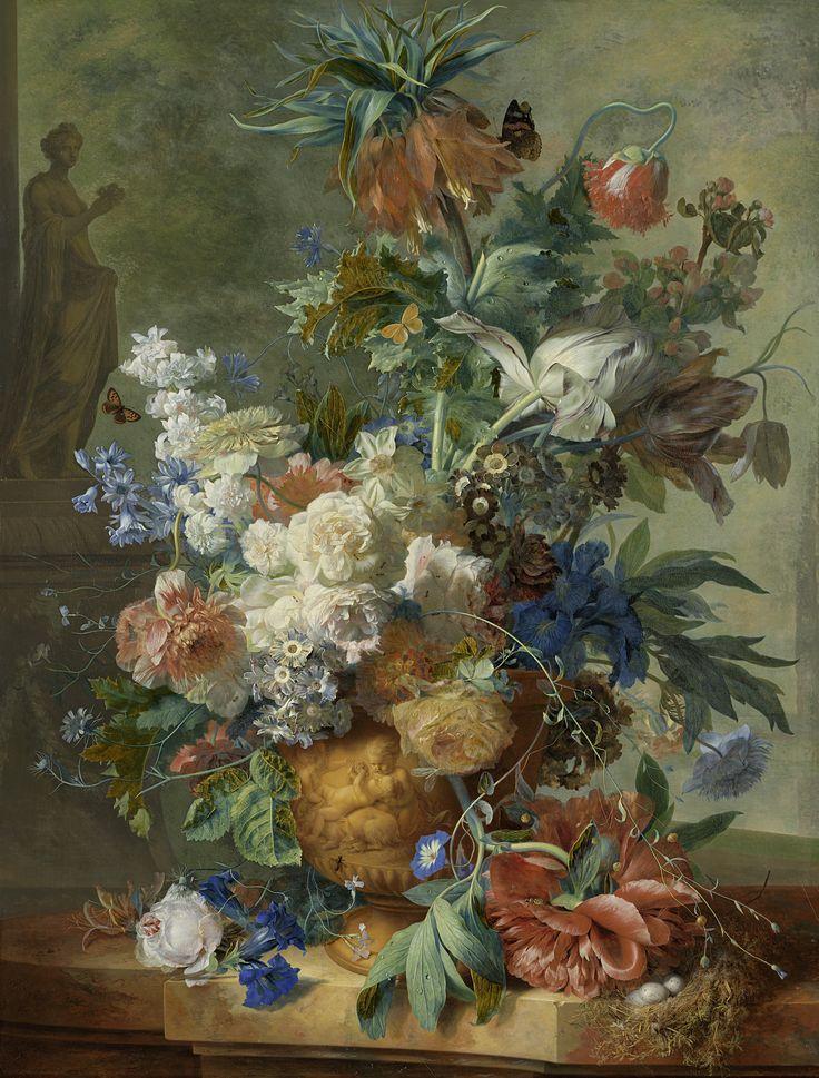 Jan van Huysum 1723, Dutch