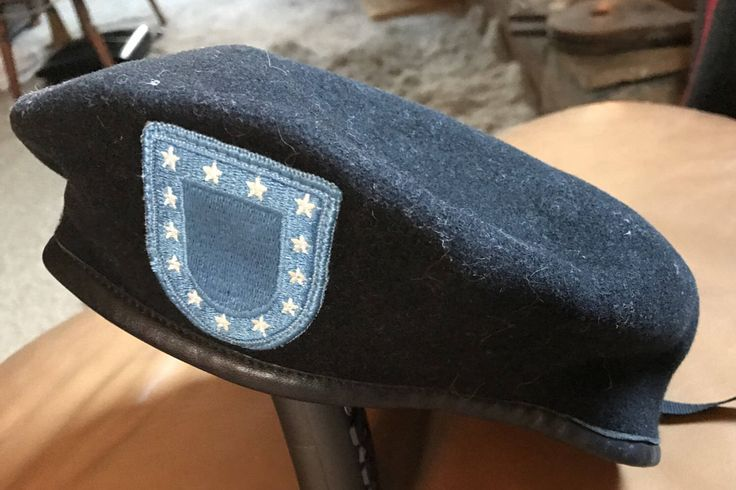 A personal favorite from my Etsy shop https://www.etsy.com/listing/516588889/us-army-beret
