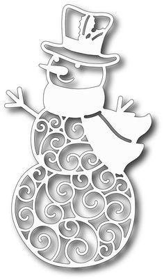 Tutti Designs - высечки - Jolly Снеговики