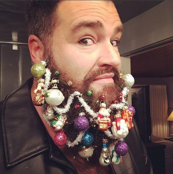 How-To: Make Your Own Beard Ornaments + Dean Banowetz has the Best Beard Ever | Modern Salon