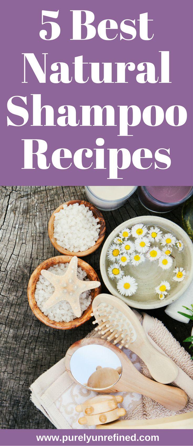 5 Best Natural Shampoo Recipes | Healthy | Natural Beauty