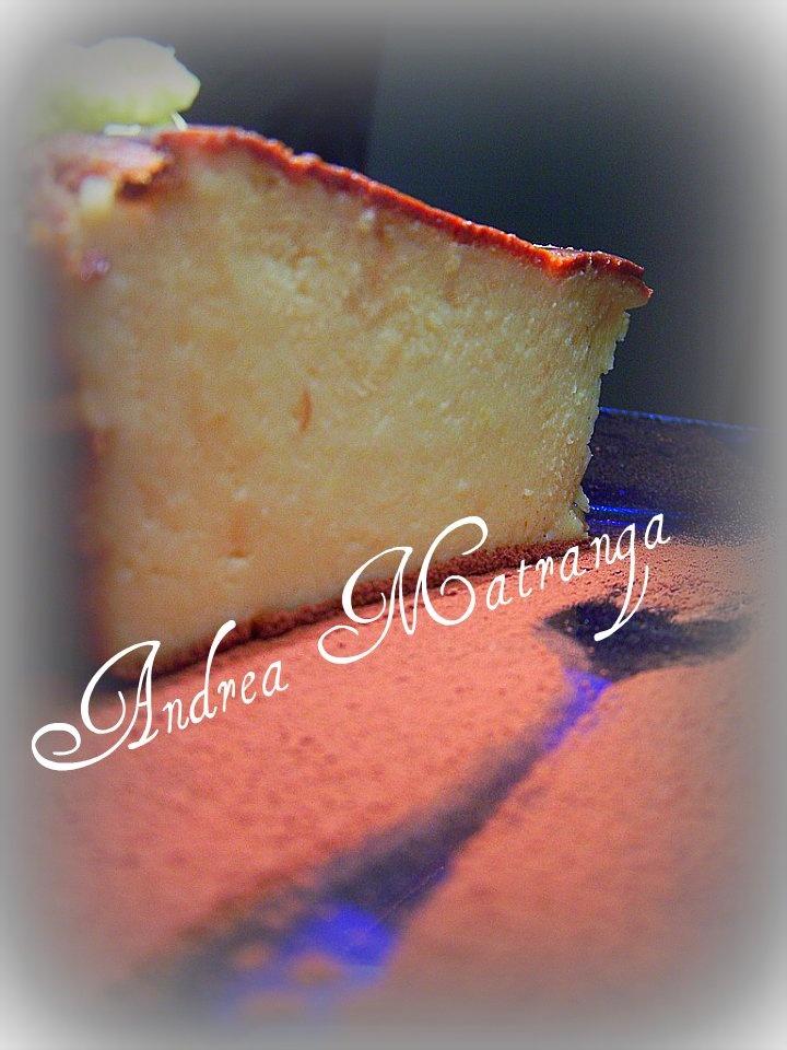 torta di ricotta al limone
