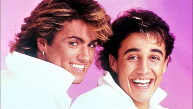 "This is the band Wham! One of their members ,George Michael, went on to have a solo career. Some of their hit songs are ""I'm Your Man"" and ""Wake Me Up Before You Go Go""."