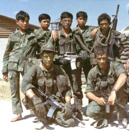 1st Special Forces Group - long-range reconnaissance team that conducted cross-border operations in Cambodia and Vietnam in 1971.