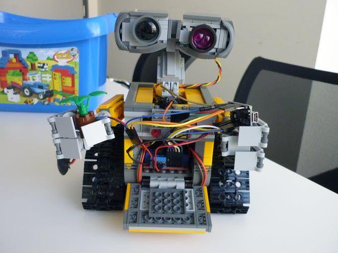 Lego Wall E With Arduino Arduino Arduino Uno Wi Fi
