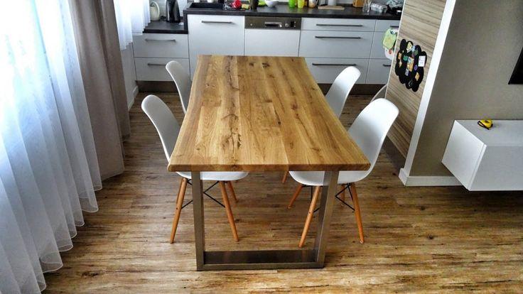 Rustikální - designový jídelní stůl