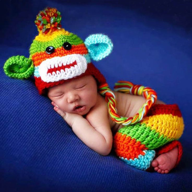 Always busy adding clothes your potatoes are gonna love ;-) This just came in: Newborn Photograp...  http://pickleandpotato.com/products/newborn-photography-prop-crazy-monkey?utm_campaign=social_autopilot&utm_source=pin&utm_medium=pin