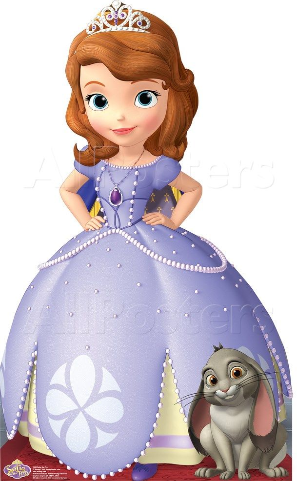 Sofia the First - Disney Princess Lifesize Standup Cardboard Cutouts at AllPosters.com
