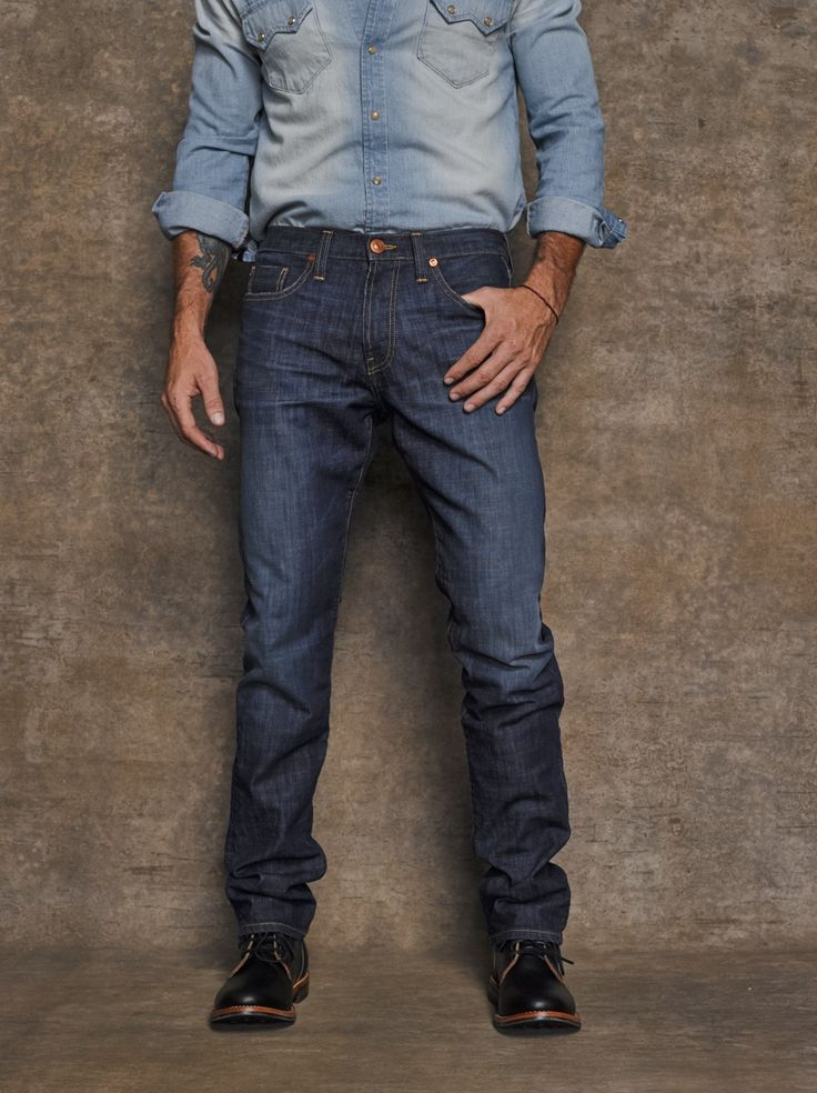 #PickOfTheDay Thompson Slim Straight jeans are elegant and classic and make an ultimate base for any outfit. Get a pair here: http://bit.ly/1zP2DD3