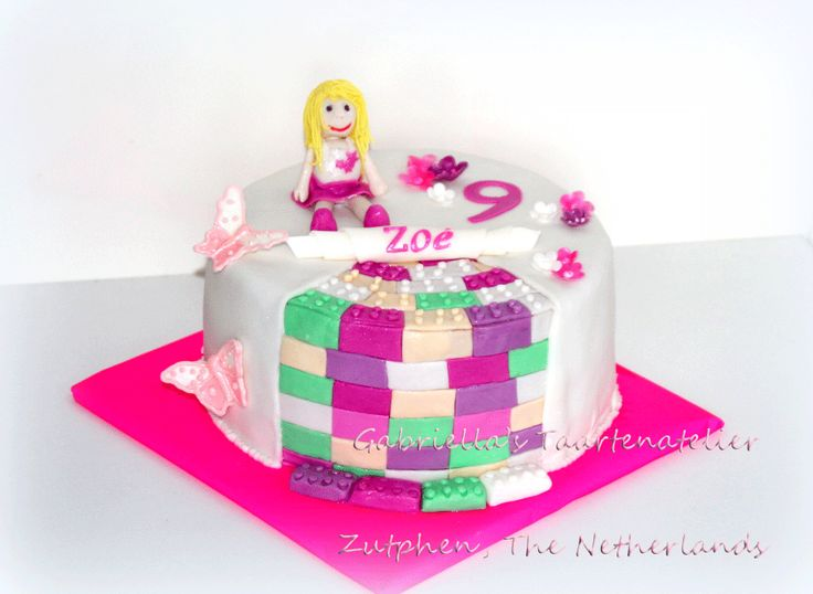 Birthday Cake Lego Friends
