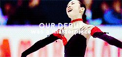 jardinaquatique:  Since we were 16 Yuna and I competed together at the same junior and senior competitions. While giving and receiving good inspiration from each other I think we were able to shake up the skating world. - Mao Asada retirement press conference (x)