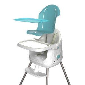 Chaise haute rehausseur évolutif Multi Dine bleu