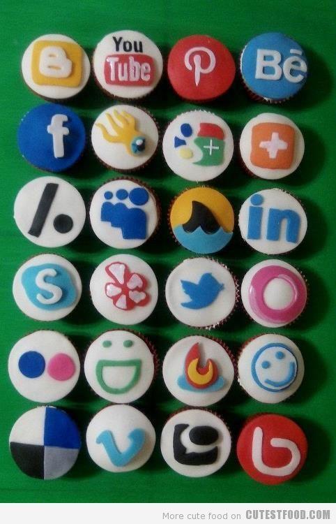 Social media cupcakes.   How many do you know?