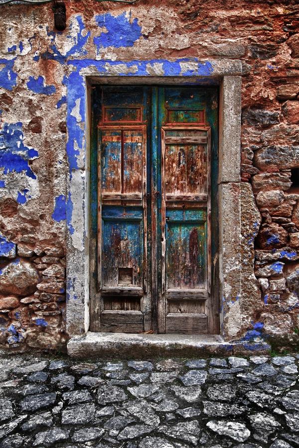 Traditional Door, Chios, Greece *