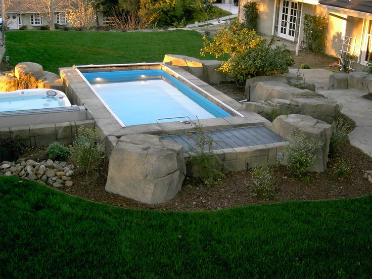 30 best images about swim spas on pinterest swim for Garden pool facebook