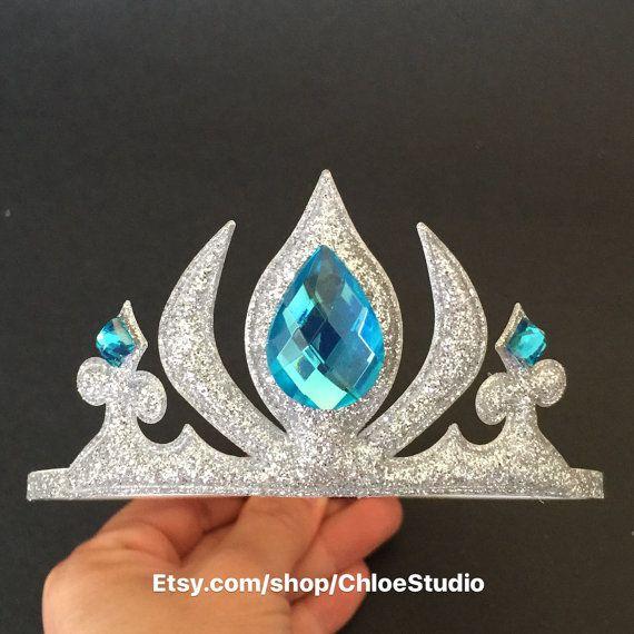 Elsa Crown, venda de congelados, congelados Elsa diadema, corona de la princesa…