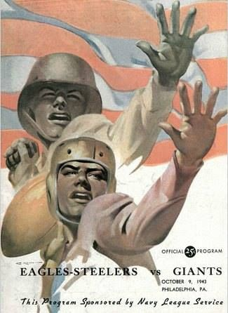 "71 years ago, with World War II underway and 640 NFL players serving leaving a number of teams with depleted rosters, the NFL approved The Pittsburgh Steelers - Philadelphia Eagles merger. While the league's official record book refers to the team as the ""Phil-Pitt Eagles-Steelers Combine,"" the unofficial nickname that would stick was ""The ""Steagles."""