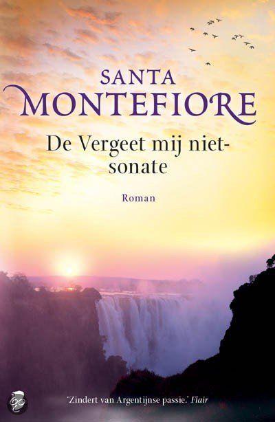 Santa Montefiore - De vergeet mij niet sonate - 2014