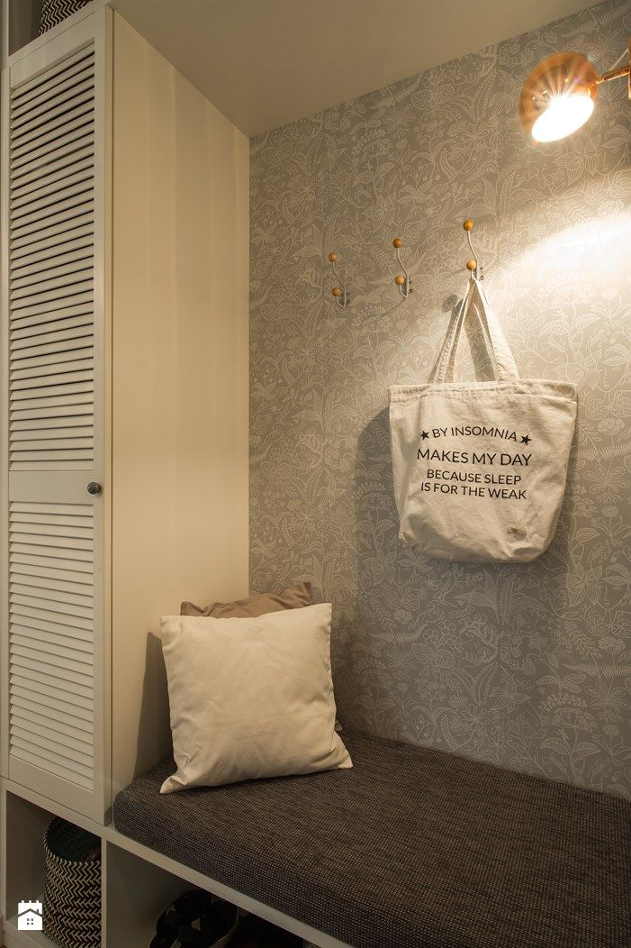 Hol / Przedpokój styl Skandynawski - zdjęcie od EG projekt - Hol / Przedpokój…