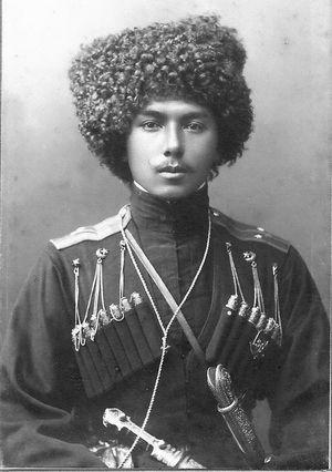 Cáucaso, bacia do rio :Kuban, cossaco ucraniano.