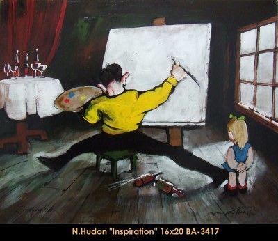 Original mixed media painting by Normand Hudon New BOOK available November 9 2014 #hudon #art #caricaturist #child #painter #mixedmedia #canadianartist #quebecartist #originalpainting #balcondart #multiartltee