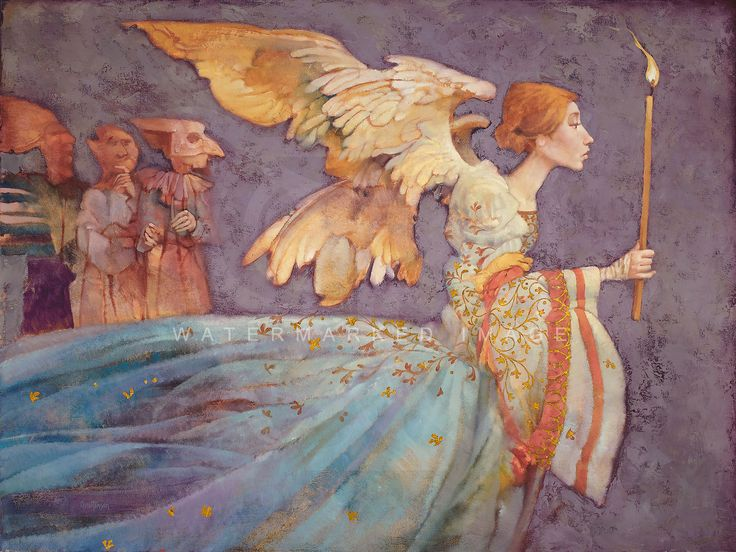 "James Christensen Art Shakespeare | Angel"" by James C. Christensen"
