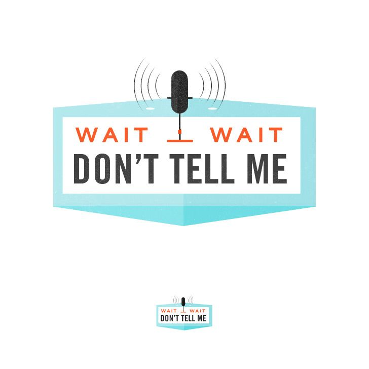 Wait Wait... Don't Tell Me! NPR logo by Kelli Anderson
