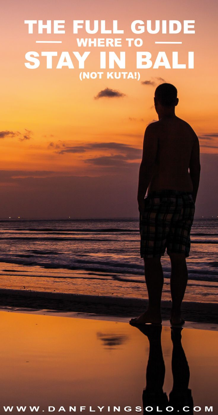 Whether it is the black sand beaches without the crowds, the tourist packed and stylish Seminyak or along the beautiful beaches of the Bukit check this out before heading to Bali and ending up in Kuta!