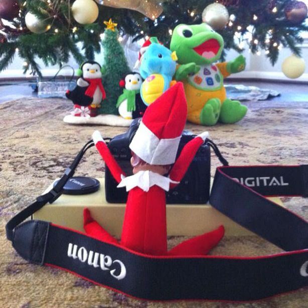 27 ingenious Elf on The Shelf ideas - goodtoknow                                                                                                                                                                                 More